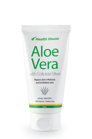 Nature's two natural healers - Aloe Vera and Colloidal Silver.