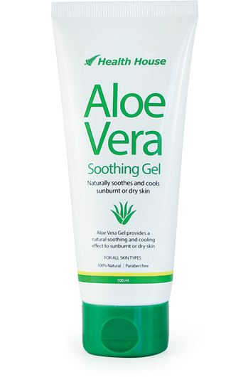Sunburn relief and soothes skin irritations.