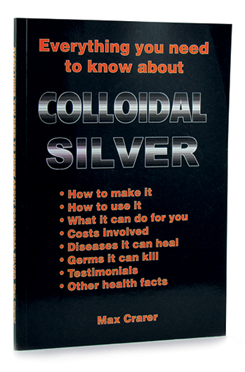 This NZ book answers everything you wanted to know about Colloidal Silver.