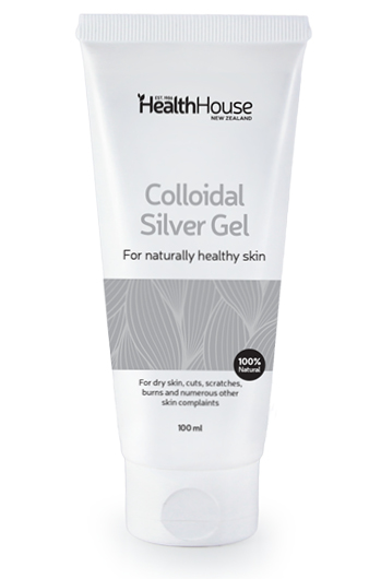 Colloidal Silver gel formulation for healthy skin.