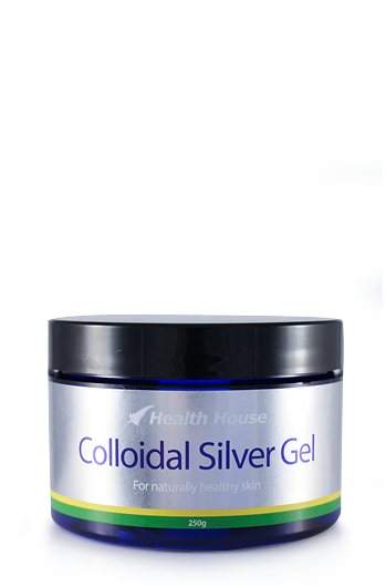 Colloidal Silver in a clear gel formulation in a economic tub.