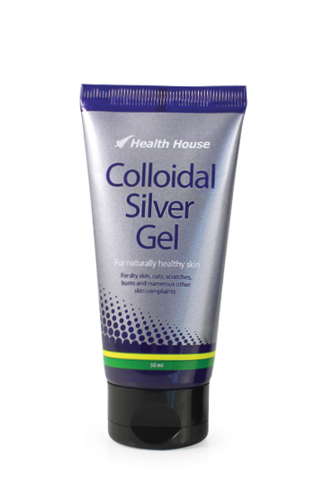 Colloidal Silver gel formulation for healthy skin, now in a soft tube.