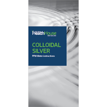 Colloidal Silver PPM Meter Instructions