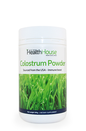 Boost your immune system with colostrum antibodies.