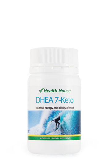 DHEA 7-Keto for Ageing, Blood/Arteries, Energy, Mind/Brain