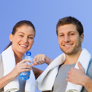 Water, exercise and skin wellness