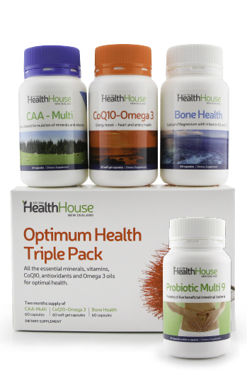 Save $4 off a bottle of Probiotics when purchased with the Triple Pack No Iron.