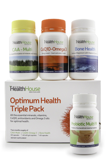 Save $4 off a bottle of Probiotics when purchased with the Triple Pack.
