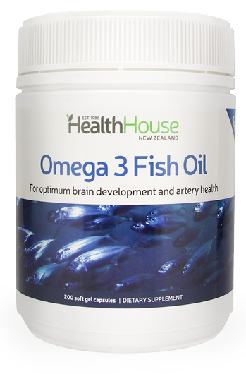Triple Strength Fish Oil for brain and artery health.