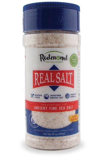 Mineral rich, pure sea salt from Utah in a convenient salt shaker.