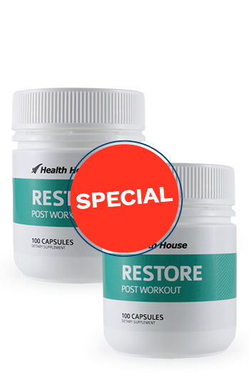 Restore your nutrients after exercising.