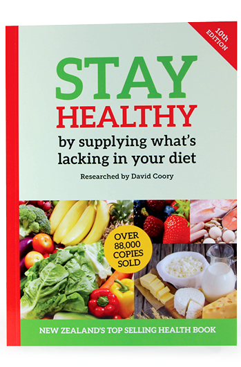 New 10th edition of the Stay Healthy book- now better than ever.