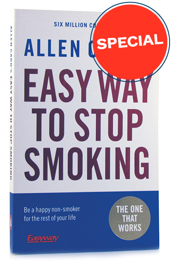 60% of smokers quit after reading this book.