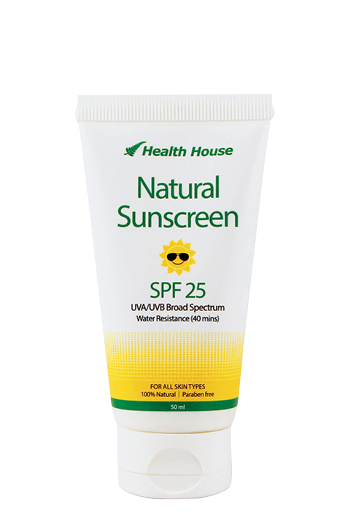 Protect your skin with our 100% Natural Sunscreen.