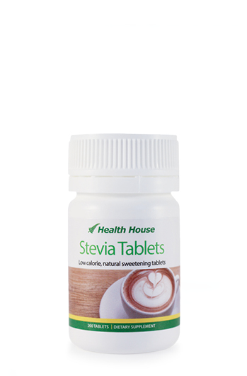 Low calorie, natural sweetening tablets for hot and cold drinks.