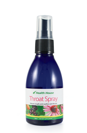 100% natural  honey and blackcurrant flavoured throat spray.