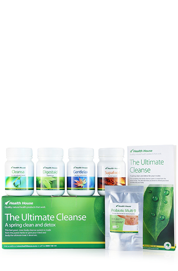 Ultimate Cleanse kit for Digestion/Bowel, Liver/Kidney, Weight Management